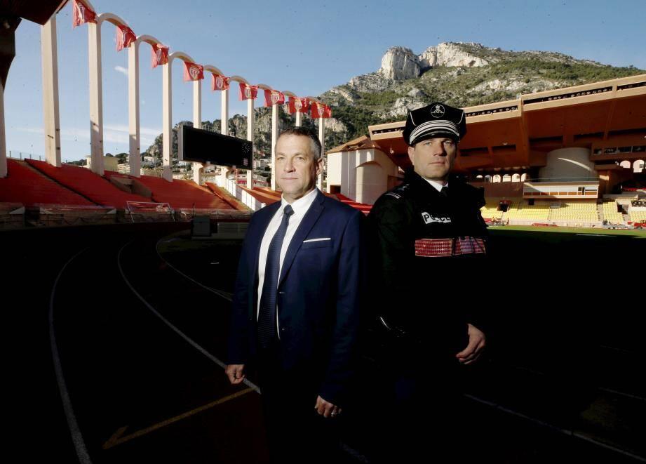 Le commandant Vachetta et le major Madonna forment la charnière centrale du dispositif sécurité.