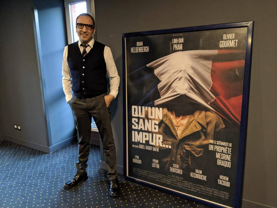 Abdel Raouf Dafri a présenté son premier film au Pathé Gare du Sud.