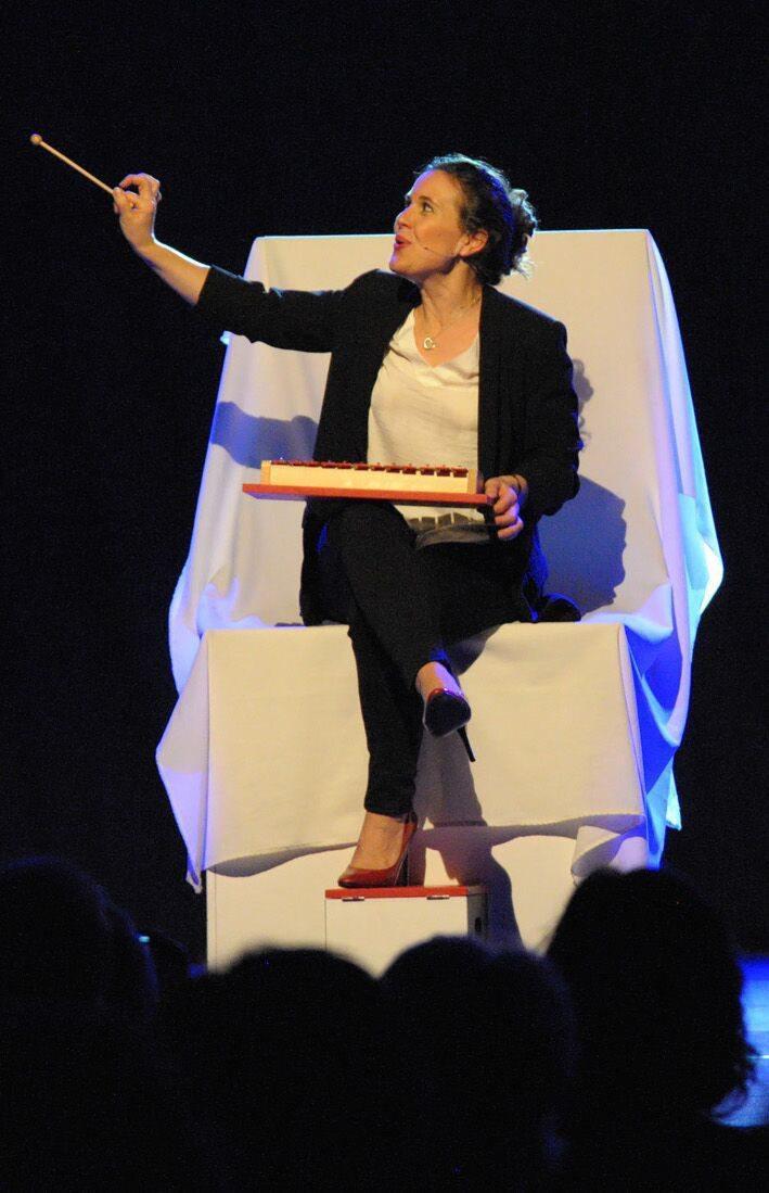 Antonia de Rendinger interprète Moi jeu, demain à 21 heures, salle Charlie-Chaplin.