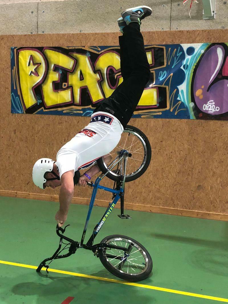 Toujours spectaculaire : les démonstrations de BMX séduiront tous les publics.