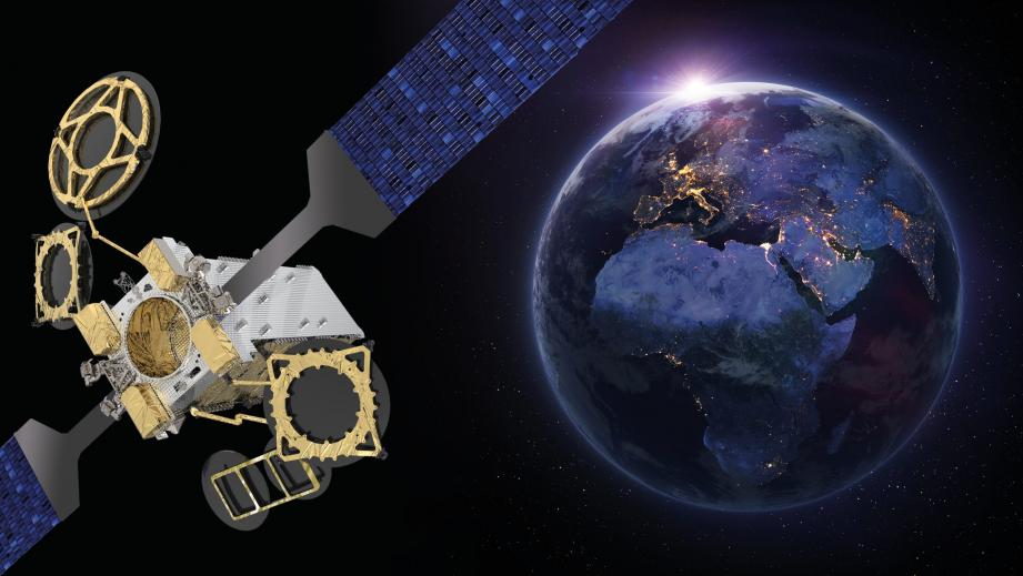 Thales Alenia Space a lancé, hier, le satellite Eutelsat Konnect. (DR)