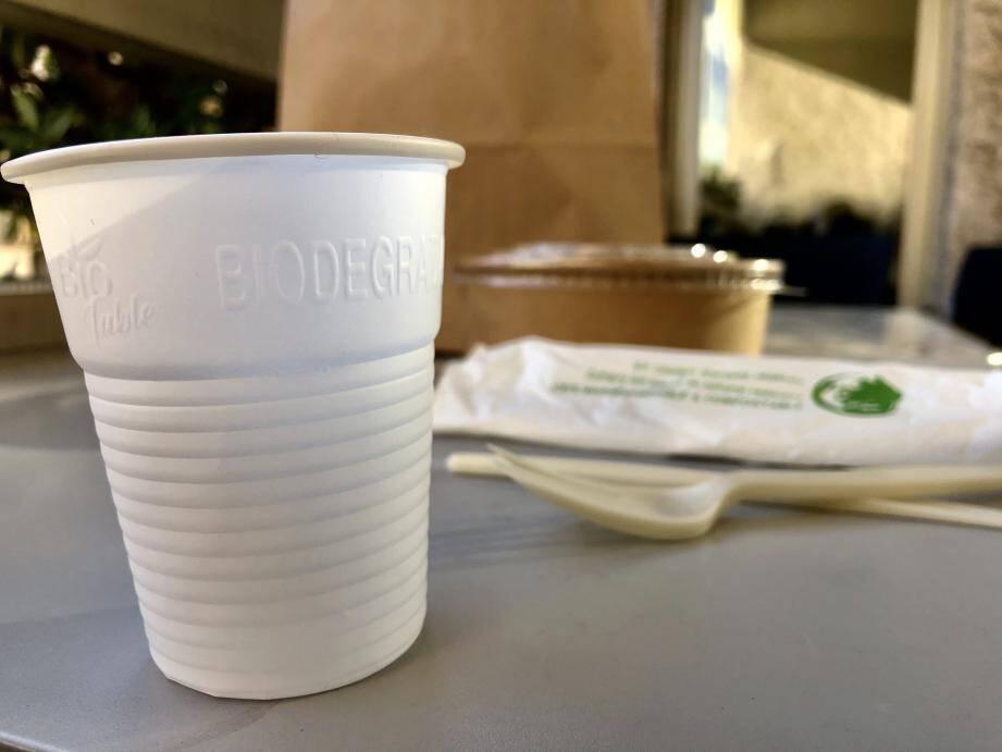 L'interdiction des couverts et gobelets en plastique à usage unique a donné lieu à l'apparition d'alternatives issues du végétal, qui ne sont ni autorisées, ni véritablement vertueuses.