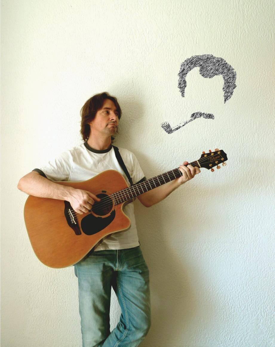 Manuel Hernandez reprendra le répertoire de Georges Brassens accompagné du contre bassiste Frédéric Rouquier.(DR)