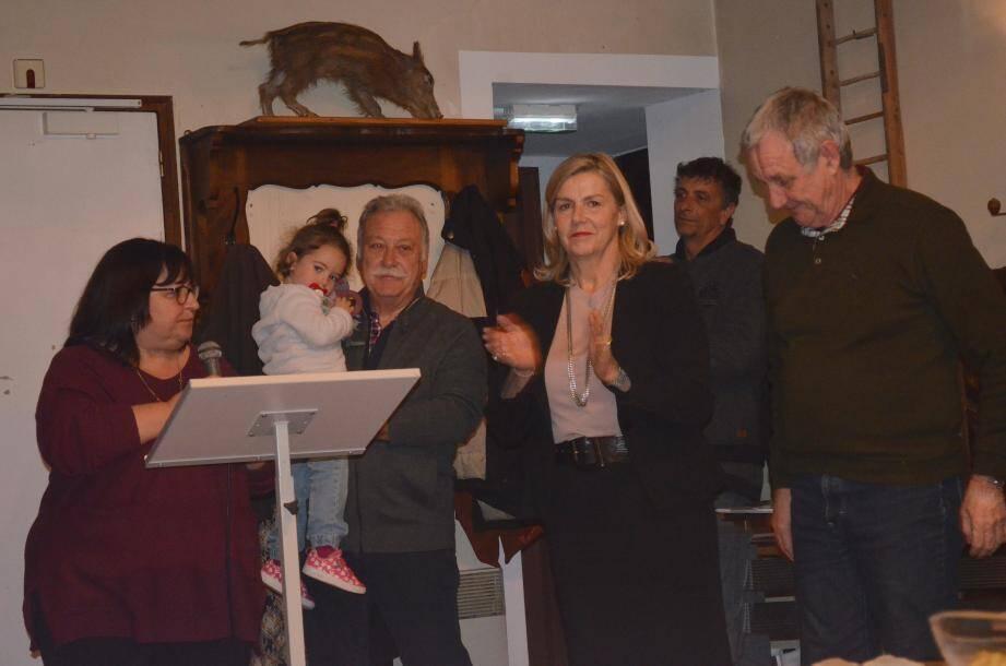 Les derniers vœux du maire, Jean-Marie Aubert, ont eu lieu à l'auberge en présence d'Anne Sattonnet, conseillère départementale.