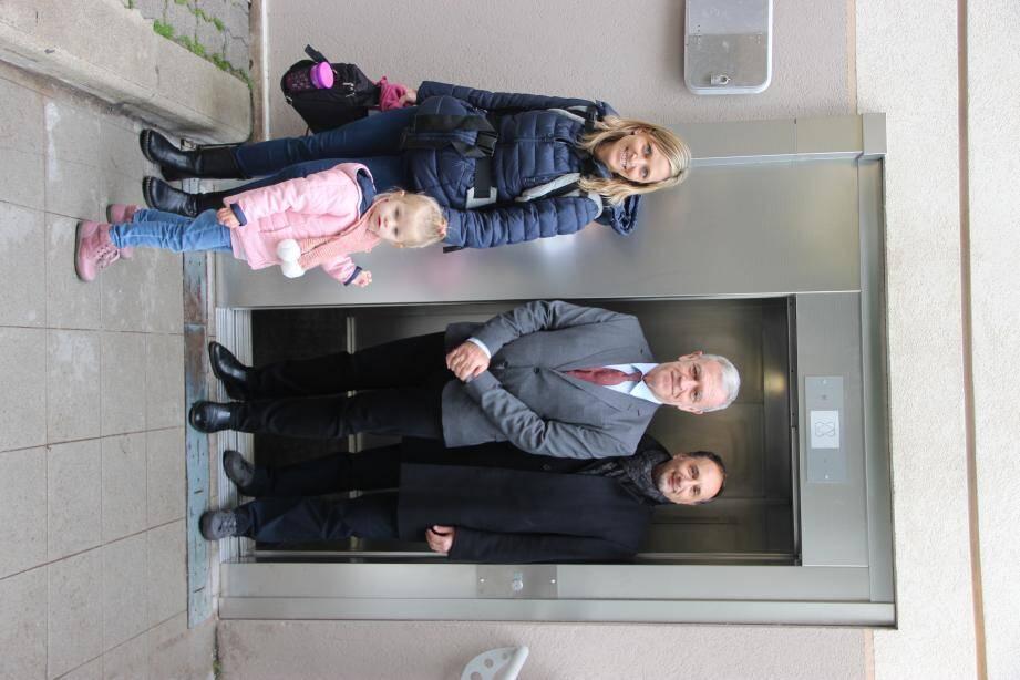 Les cinq ascenseurs publics de Beausoleil permettent de se déplacer rapidement.(DR)