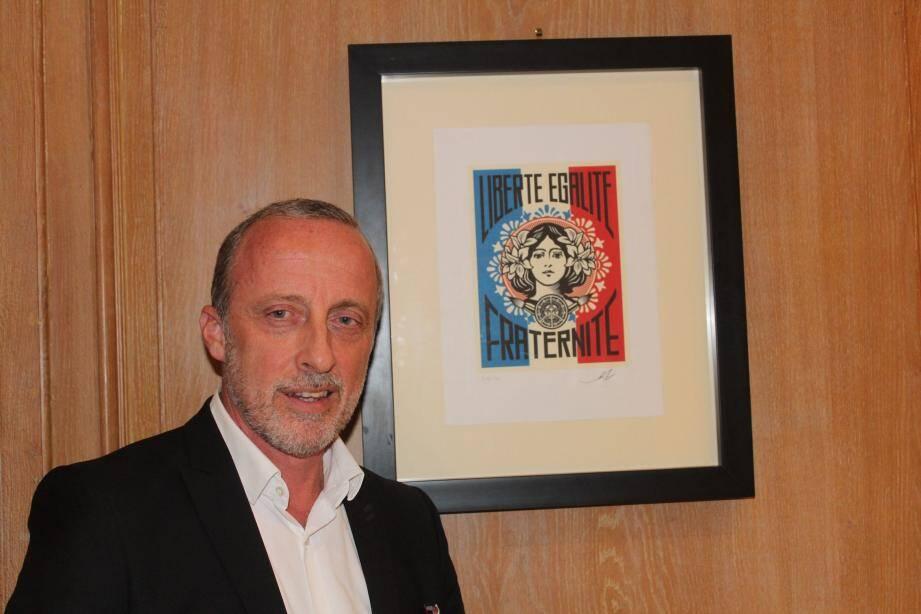 Christophe Trojani, motivé, brigue un second mandat.