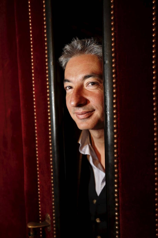 Bertrand Rossi, nouveau directeur général de l'Opéra de Nice, regarde l'avenir du temple lyrique avec ambition et assurance.