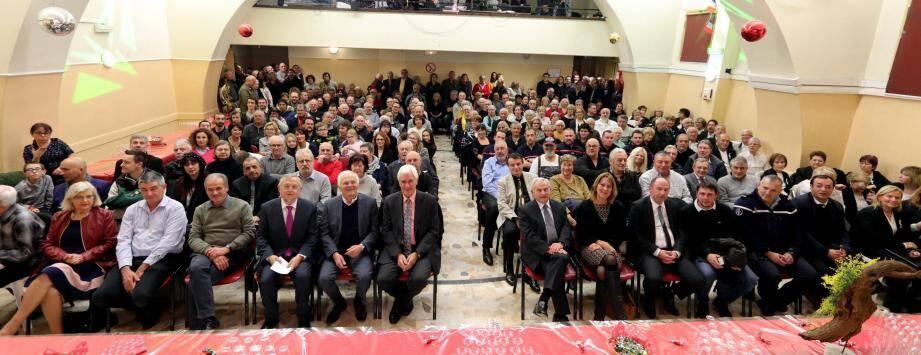 Le maire Pierre Donadey a formulé des vœux qui en appellent d'autres pour l'an prochain.