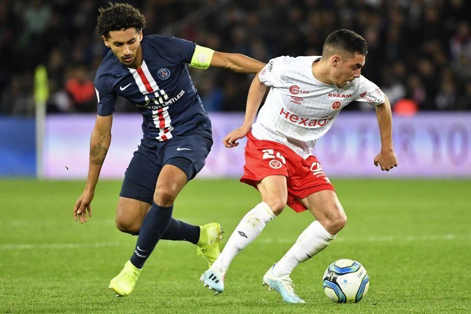 En septembre, Cafaro et Reims s'étaient imposés 2-0 au Parc des Princes...