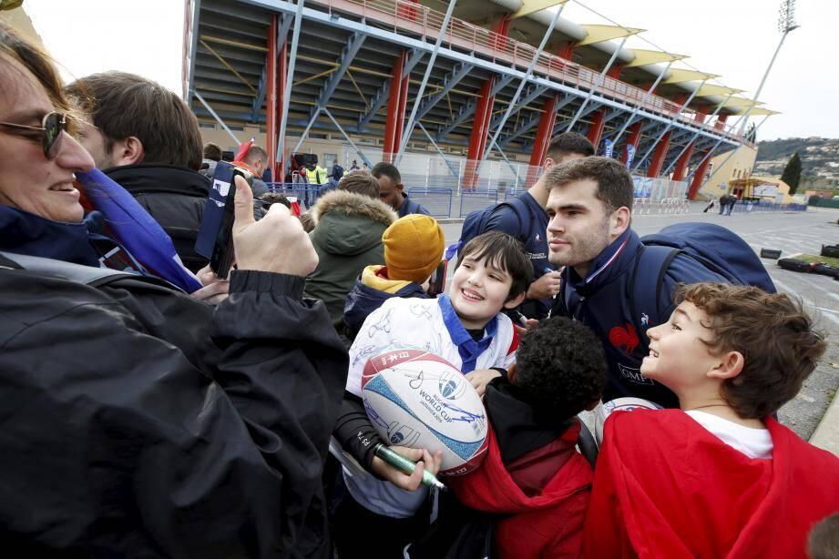 Damian Penaud est l'un des cadres de la nouvelle équipe de France.
