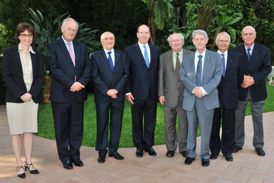 La Commission pour l'assistance aux victimes de spoliations de Monaco, ici à sa création en 2006, a donné son aval pour l'ouverture des archives de la Seconde Guerre mondiale au Centre Simon-Wiesenthal.