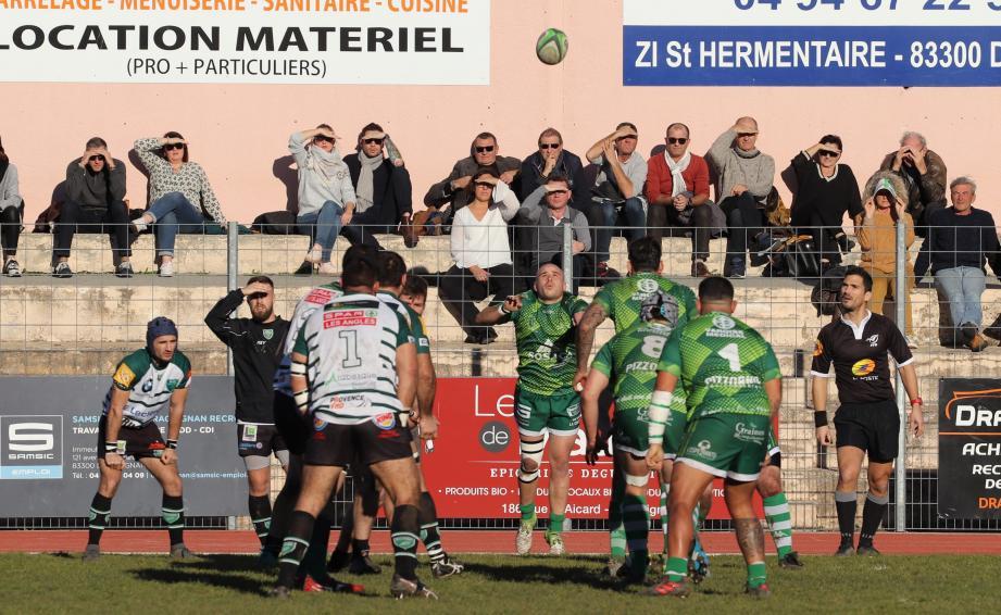 Les rugbymen dracénois ne s'attendent toutefois pas à une partie de plaisir en terre provençale.
