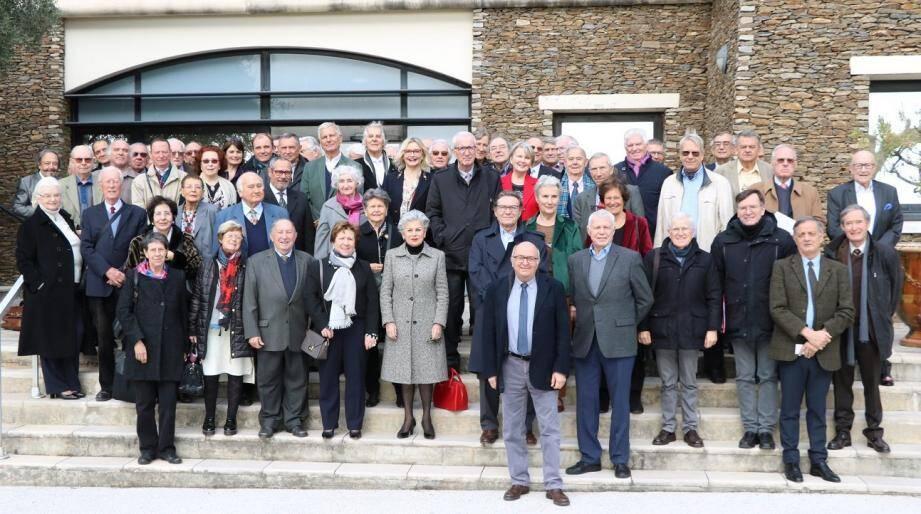 Les académiciens du Var rassemblés jeudi matin pour l'assemblée générale anuelle.