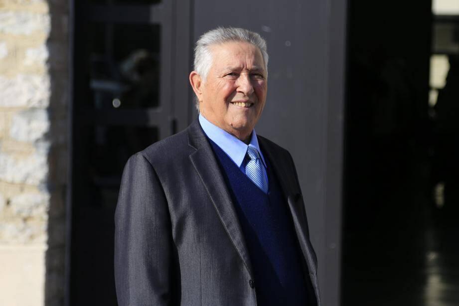 Le président René Savalli.