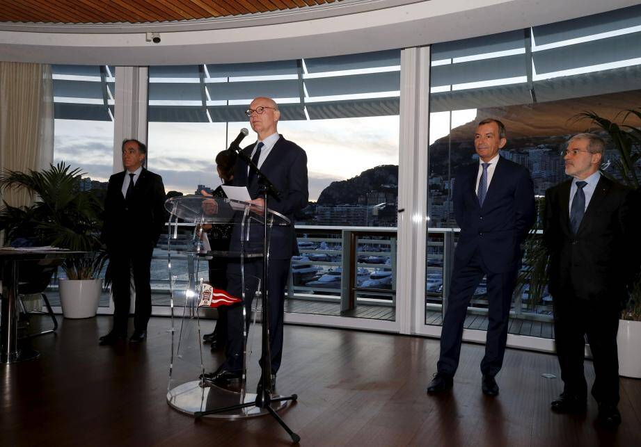 Le ministre d'État a accueilli, hier soir, les journalistes, pour ses traditionnels vœux.