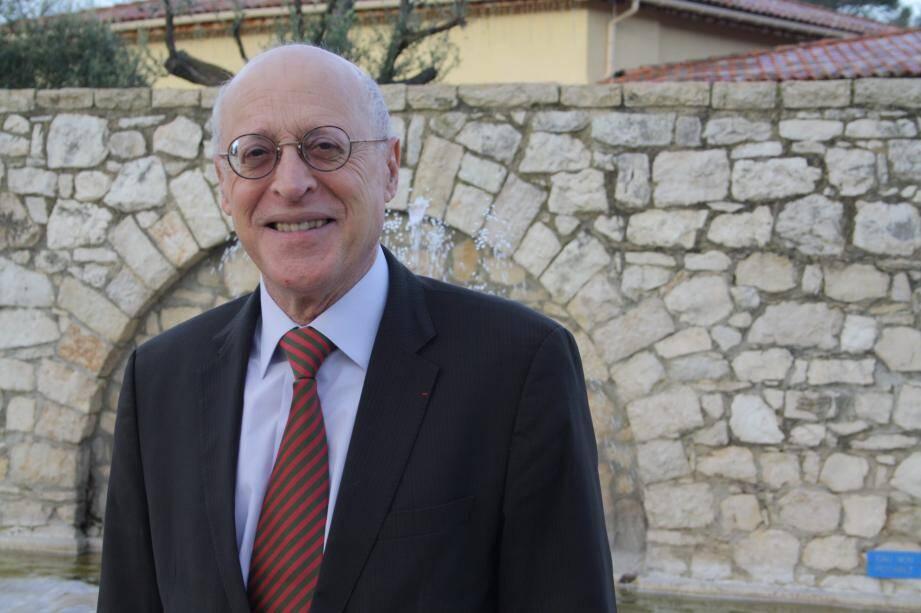 Michel Rossi, maire depuis 1983.