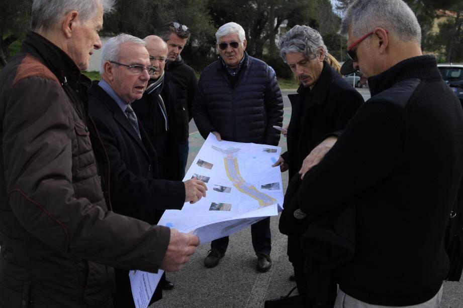 Le maire a discuté dernièrement du projet revisé avec les riverains