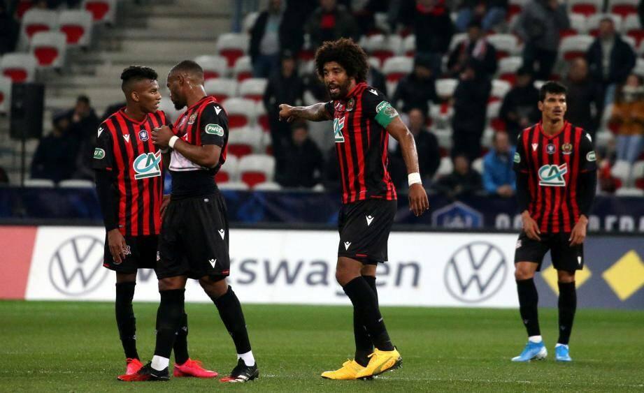 Le penalty d'Aouar élimine Nice.