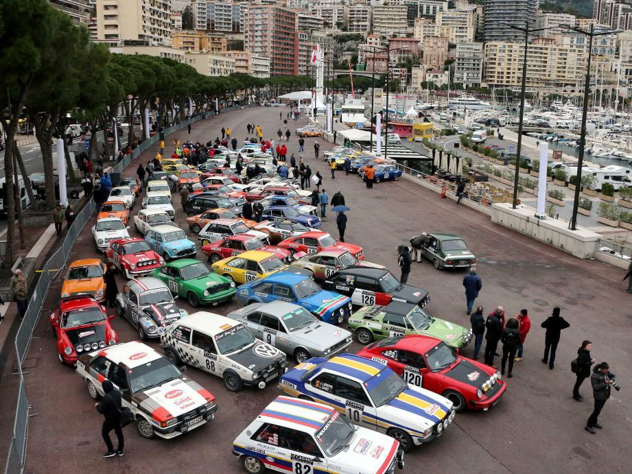 Aujourd'hui à 20h, 96 voitures s'élanceront de Monaco pour rejoindre la ville de concentration, avant le début des spéciales de régularité.