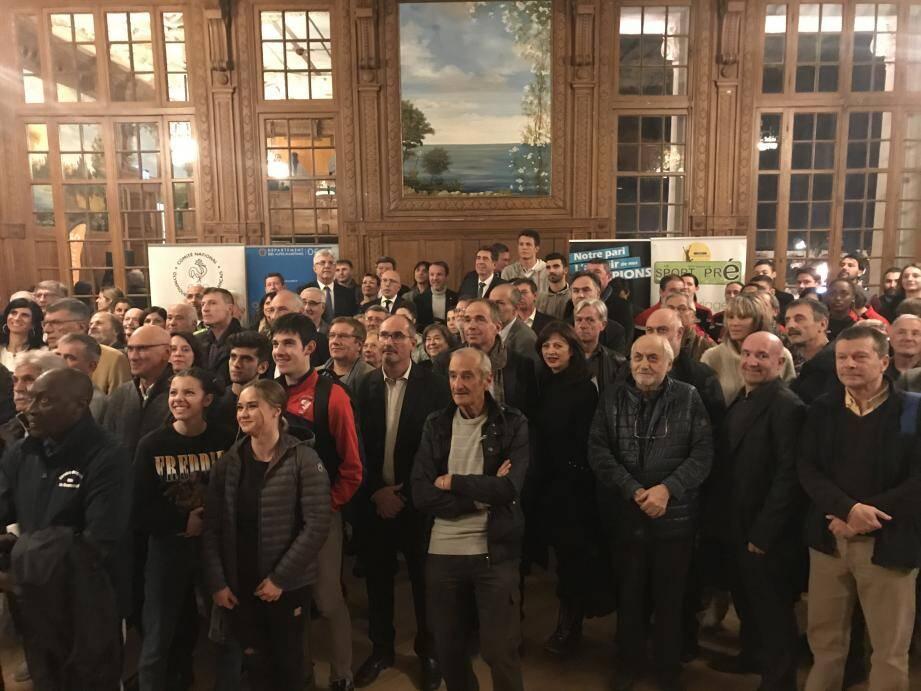 L'ensemble du mouvement sportif du département s'était donné rendez-vous, hier, à Nice.