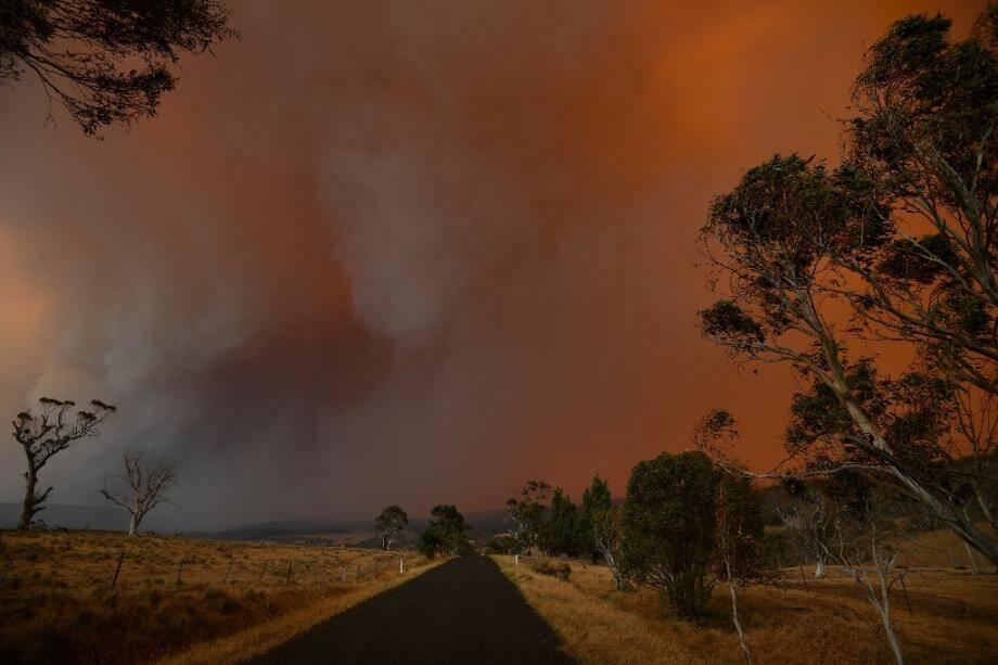 Incendie à Braemar Bay, en Nouvelle-Galles du Sud, le 4 janvier 2020
