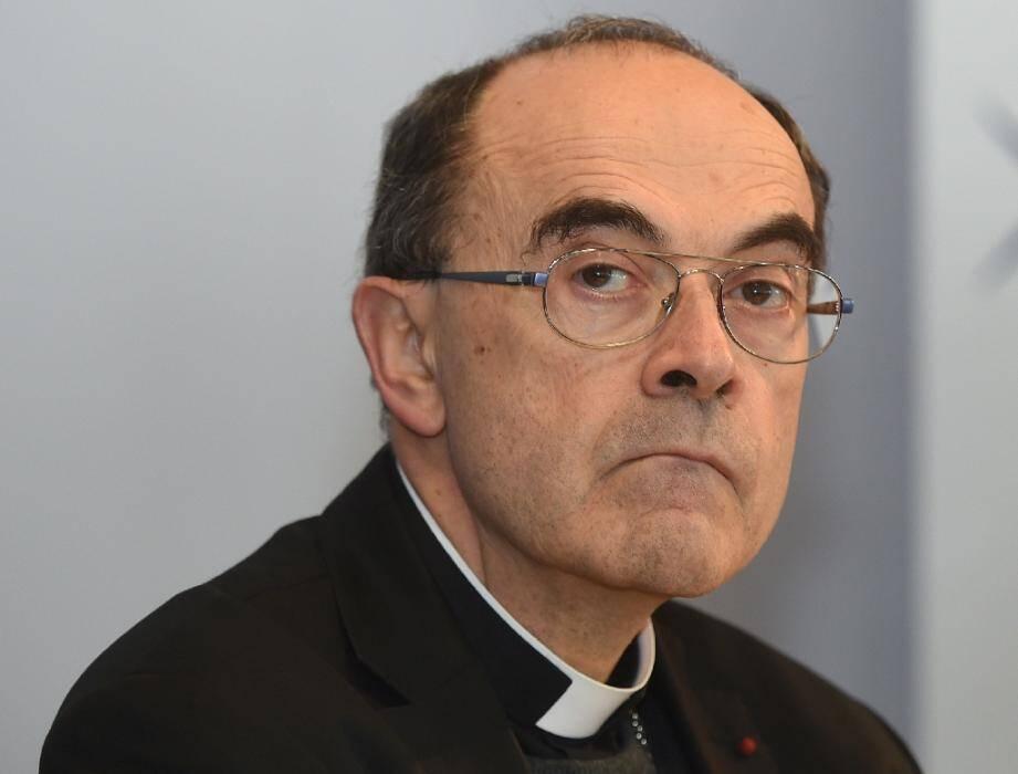 Le cardinal Philippe Barbarin en 2016
