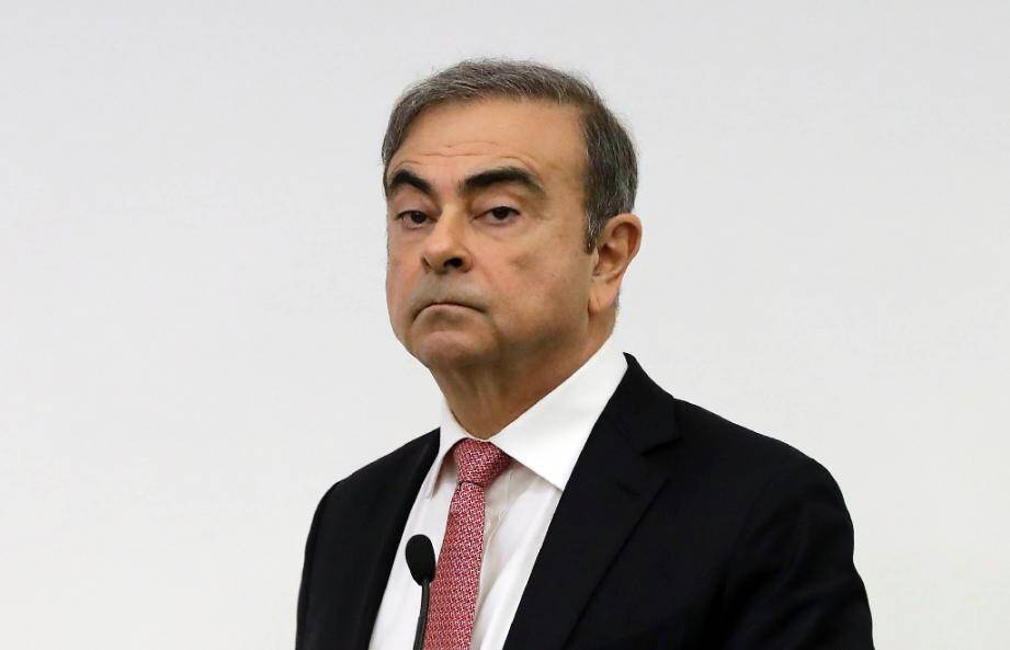 Carlos Ghosn le 8 janvier 2020 à Beyrouth