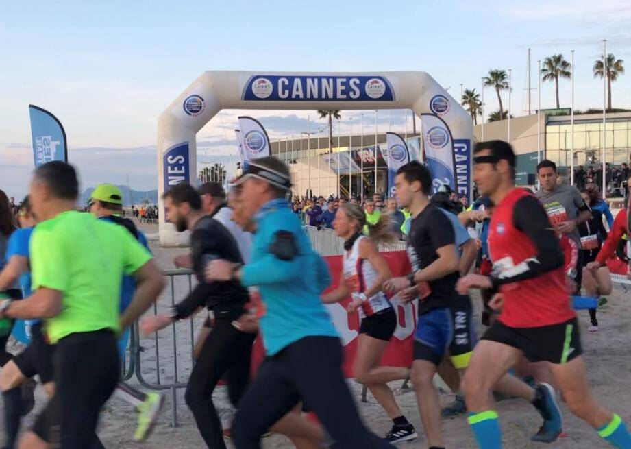 L'Urban trail de Cannes a été reporté (illustration).