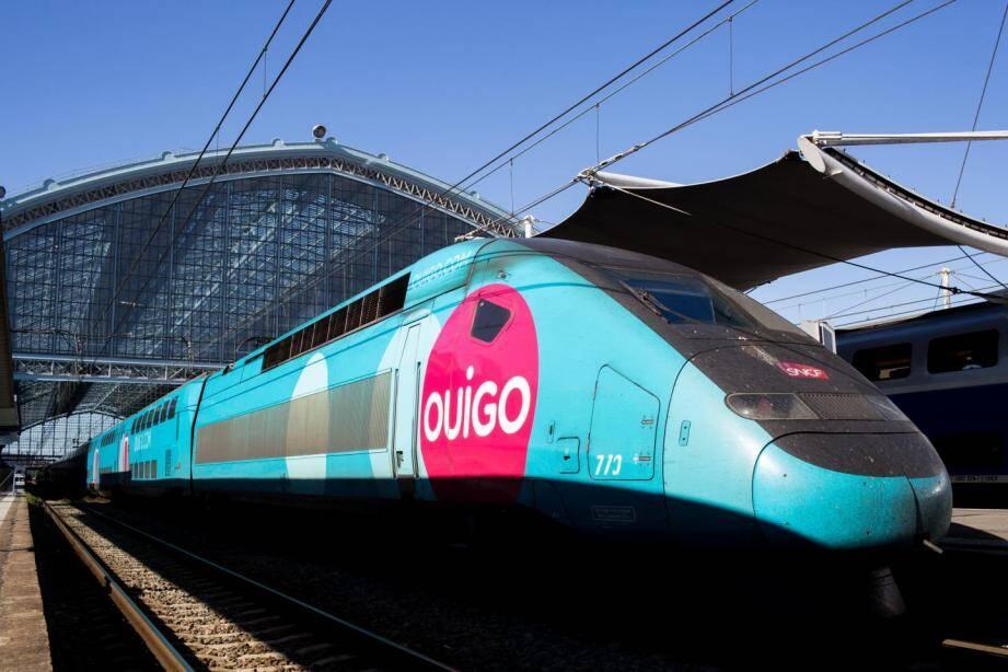 Un TGV Ouigo.