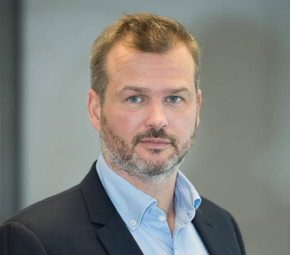 Sébastien Le Pollès, pdg-fondateur de FFED. La Sophipolitaine a été sélectionnée avec Crosscall (Aix-en-Provence), ImCheck Therapeutics (Marseille) et Wooxo (La Ciotat) dans le dispositif French Tech 120.