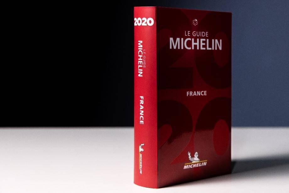 Le guide gastronomique Michelin, le 21 janvier 2020 à Paris