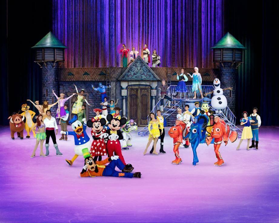 Disney sur glace est de retour à Nice.