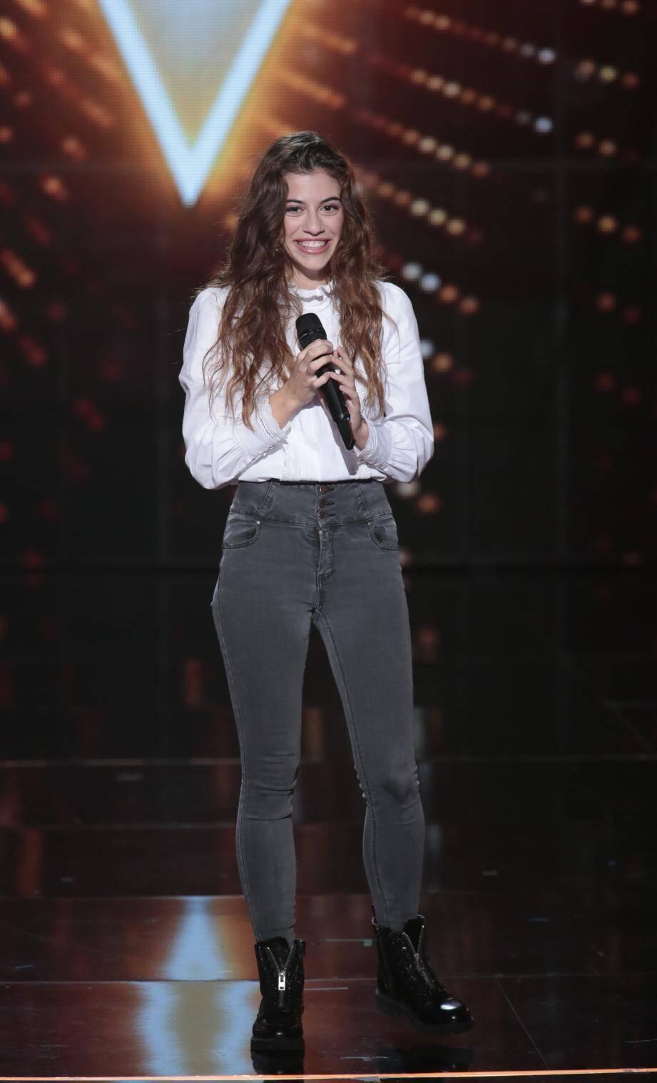 La Niçoise Baby J dans la saison 9 de The Voice