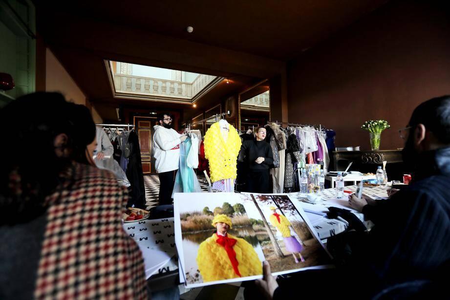 Mi-décembre, à la villa Romaine le jury mode avait fait une première sélection avant, hier à Paris, de ne retenir que 10 finalistes par catégorie.