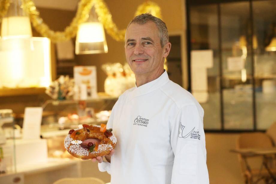 La recette de Christian Cottard, pâtisserie Cottard à Antibes.