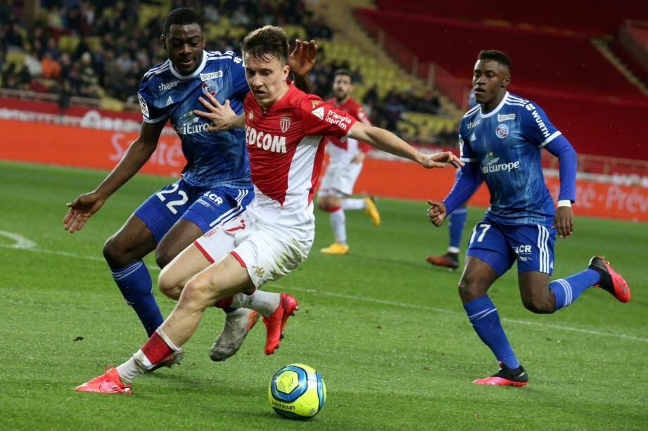 Lors de Monaco-Strasbourg.