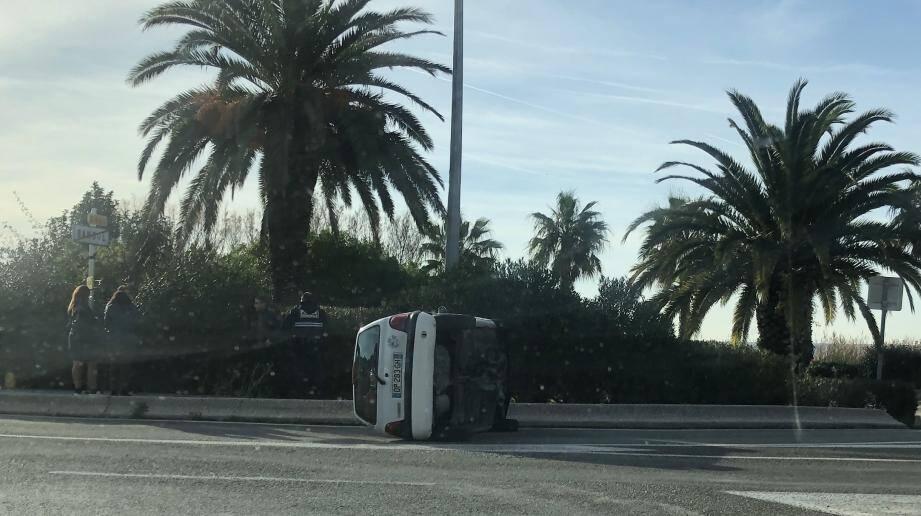 Le conducteur se plaignait de douleurs à la hanche