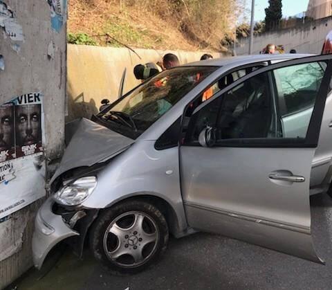 L'accident s'est produit ce jeudi aux alentours de 12h30 chemin de Carimaï, au Cannet.