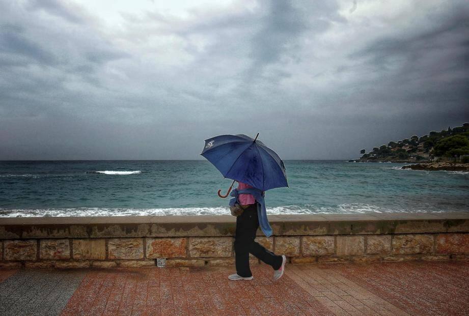 Il va pleuvoir ce vendredi dans les Alpes-Maritimes.