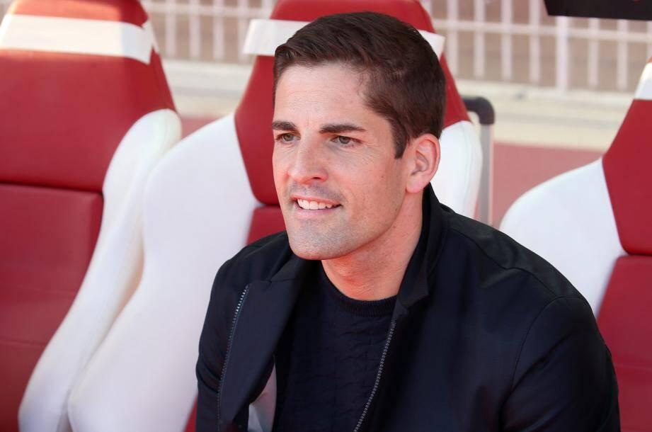 L'entraîneur de l'AS Monaco, Robert Moreno.