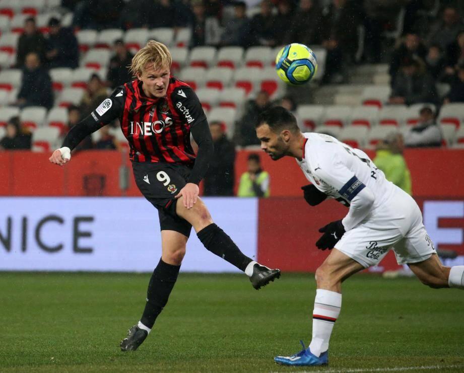 Bien mieux utilisé par ses coéquipiers, surtout en première période, le Danois a renoué avec un but qui le fuyait depuis fin novembre à l'Allianz. Son sixième de la saison.