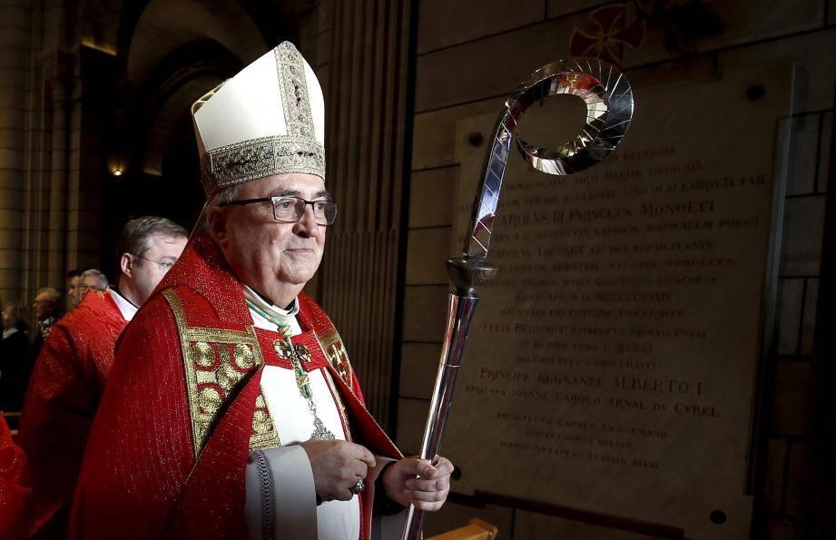"""L'archevêque Bernard Barsi, désormais """"émérite"""" a fait des adieux émouvants à ses fidèles."""