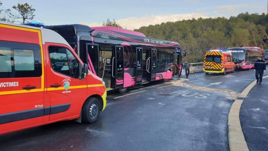 Les chauffeurs du réseau Envibus ont fait jouer leur droit de retrait après l'accident de ce lundi à Antibes.