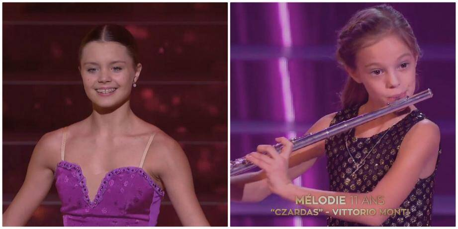 La danseuse Mathilde Valin et la flûtiste Mélodie Seguin en finale de