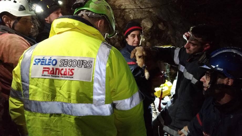 Jana a été sauvée au terme d'un incroyable sauvetage.