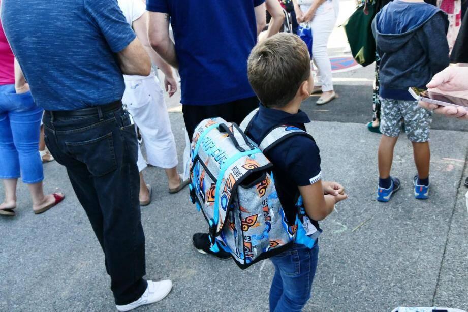 Les pitchouns antibois seront surtout impactés par la grève en maternelle.