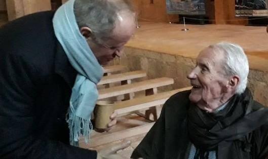 Lors de sa dernière souriante - mais très encadrée - apparition, à l'Abbaye du Thoronet, où il avait tenu à se rendre en janvier 2019, pour découvrir une exposition de tapisseries d'art inspirées des œuvres de son père qui ont bercé son enfance.