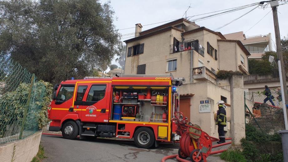 L'incendie s'est déclaré dans la cuisine d'un appartement ce mardi aux alentours de 15 heures.