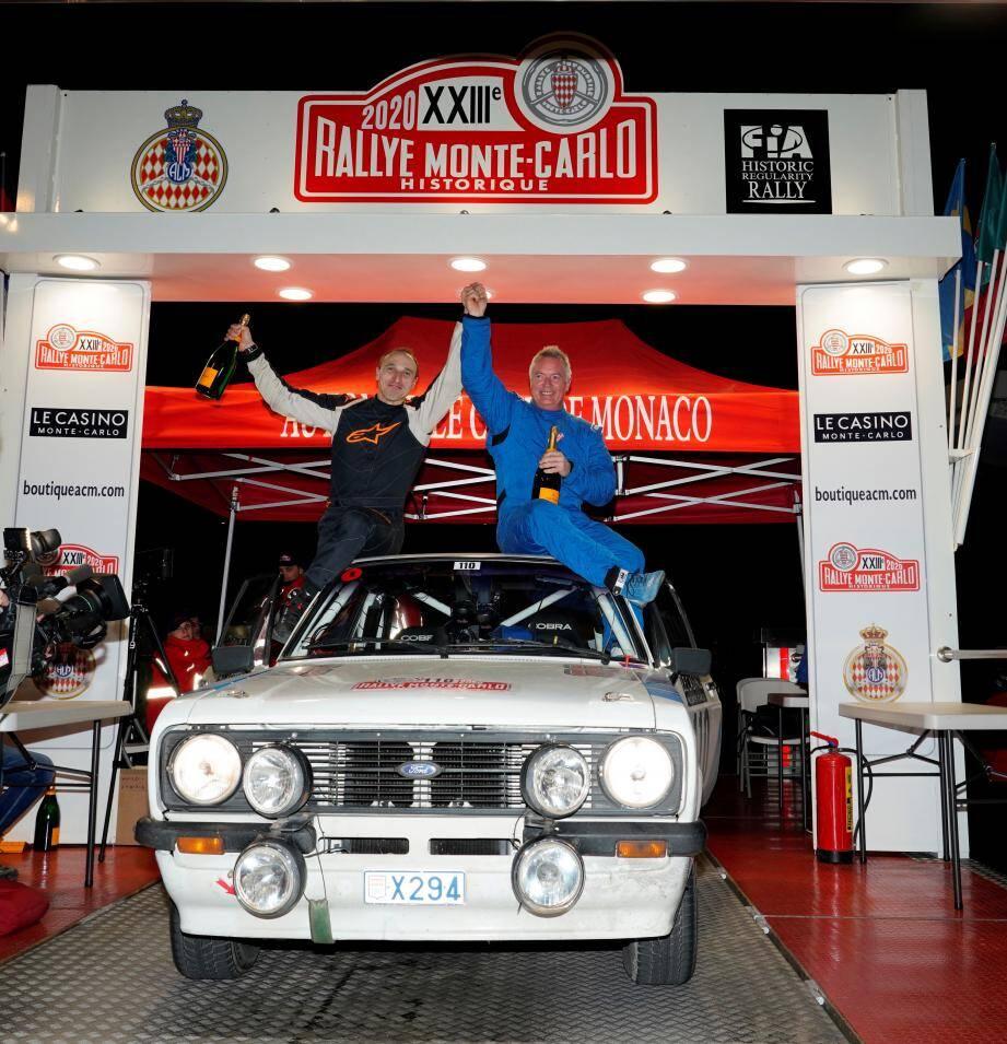 Henrik Bjerregaard et Jaromir Svec ont gagné le 23e Rallye Monte-Carlo historique.