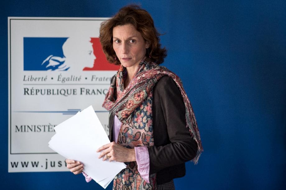 Le procureure de Lorient Laureline Peyrefitte le 20 décembre 2019